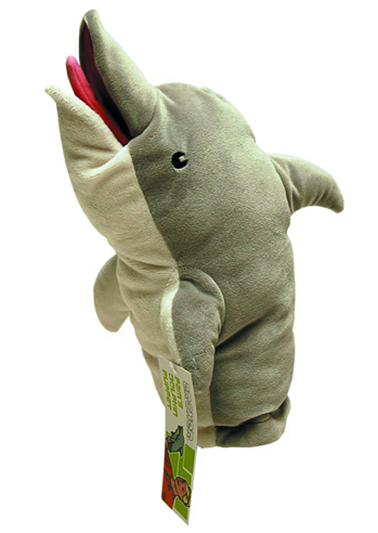 ARCHER PAMS DOLPHIN PUPPET PLUSH