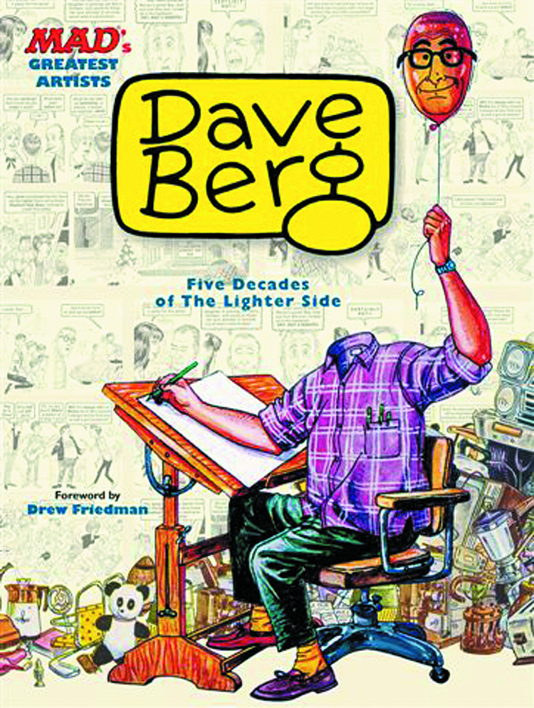 MAD GREATEST ARTISTS DAVE BERG HC