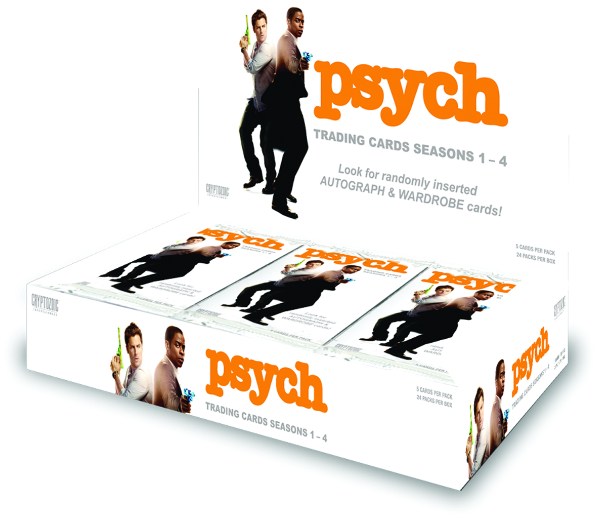 PSYCH SEASON 1-4 T/C BOX