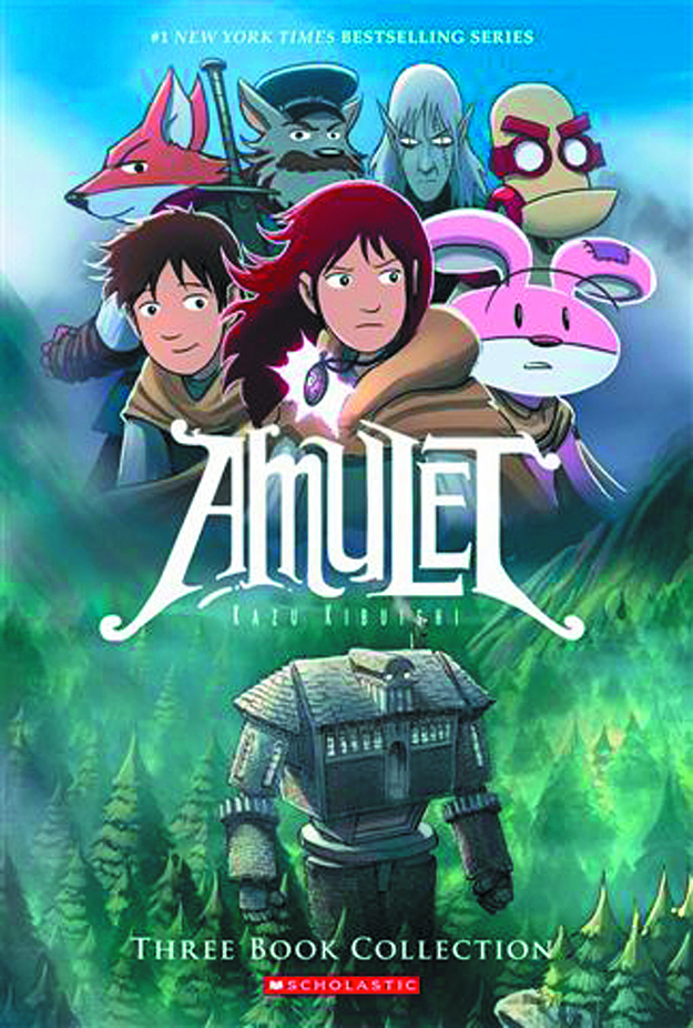 AMULET BOXSET #1 SOFTCOVER VOL 1-3