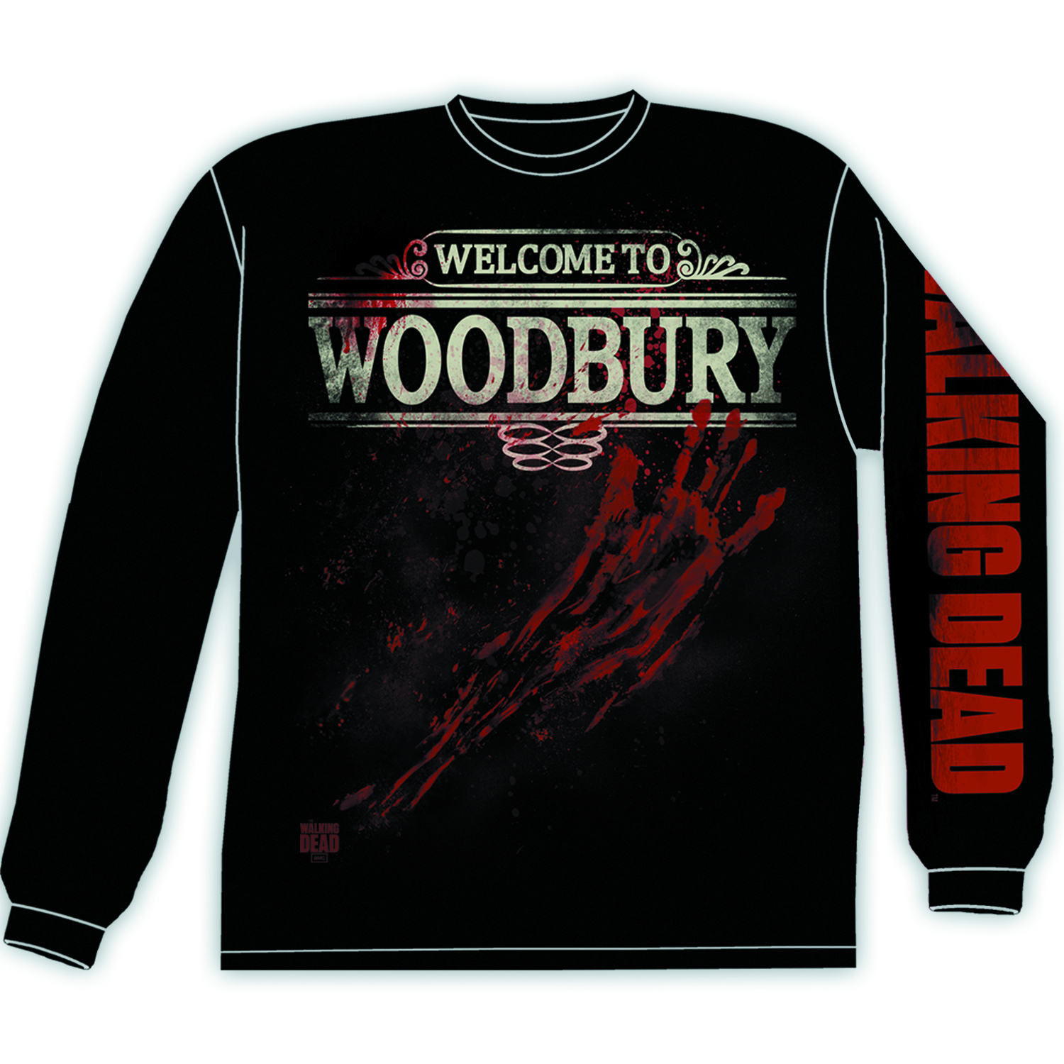 WALKING DEAD WOODBURY PX LONG SLV MED