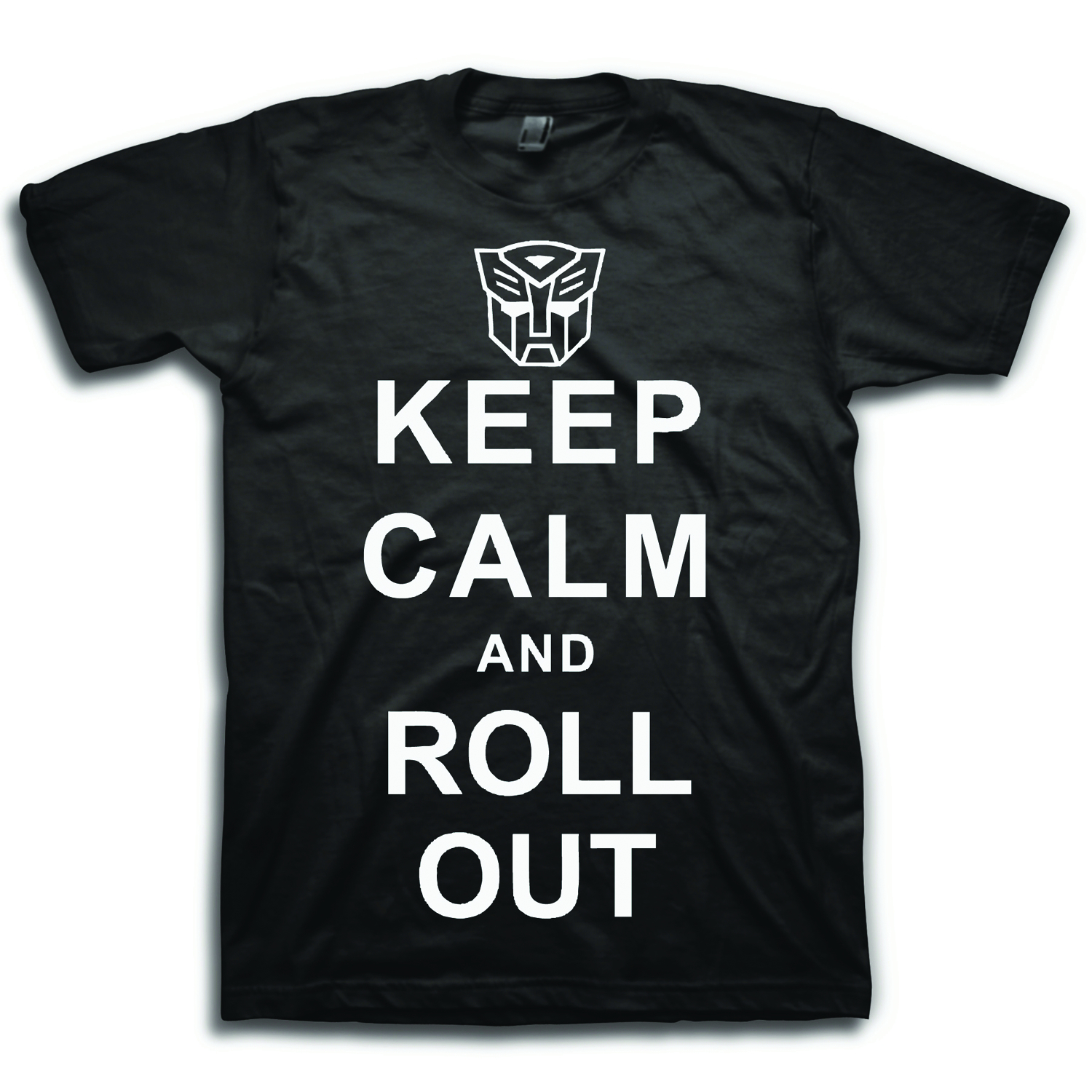 TRANSFORMERS KC ROLL OUT PX BLK T/S LG