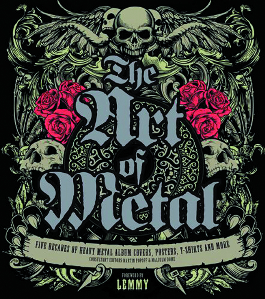 ART OF METAL 5 DECADES OF HEAVY METAL COVERS & MORE HC
