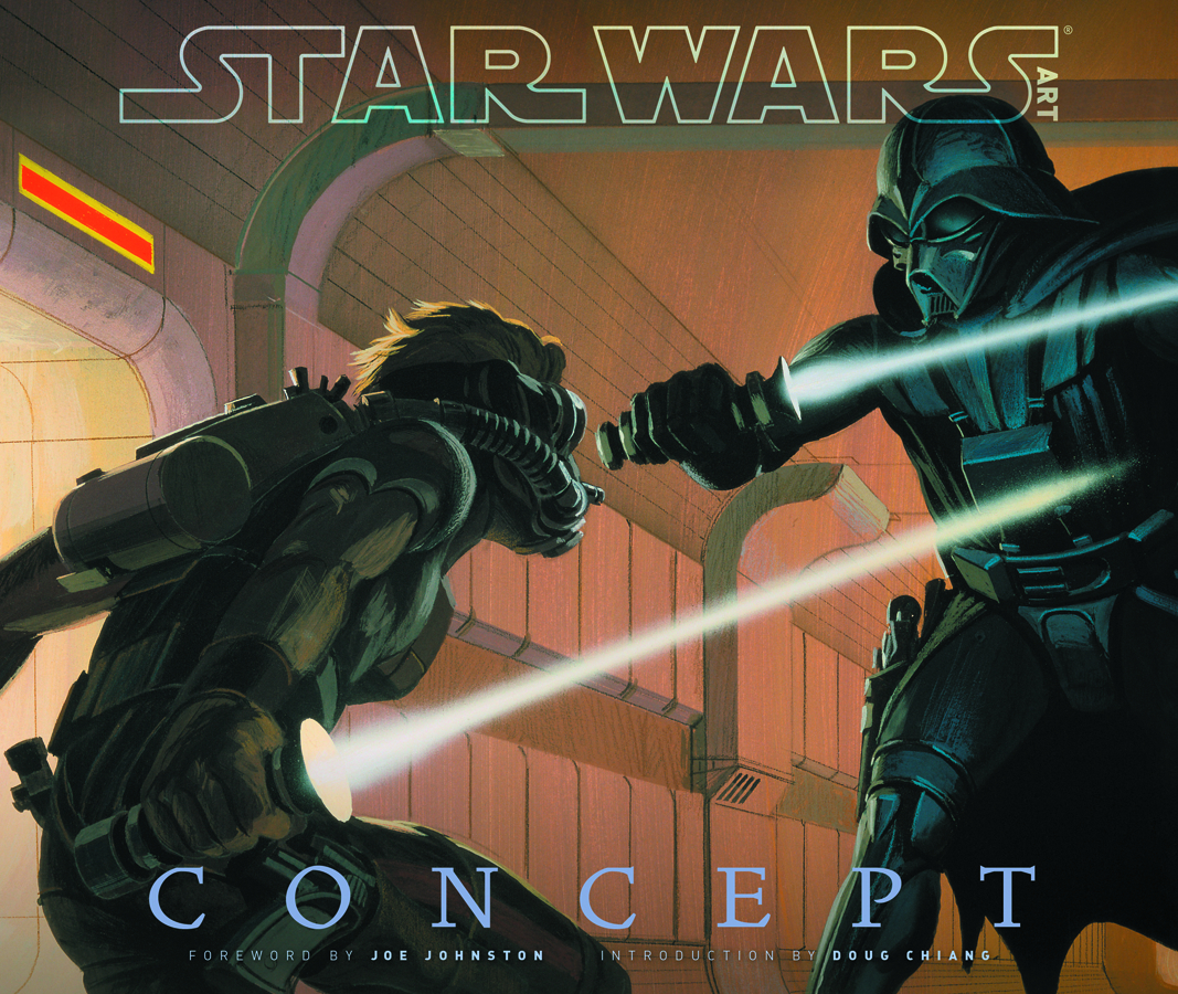 STAR WARS ART CONCEPT HC