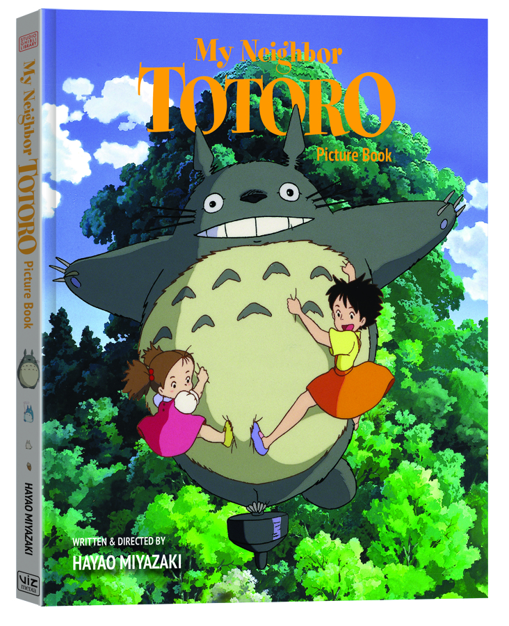 MY NEIGHBOR TOTORO PICTURE BOOK HC NEW ED