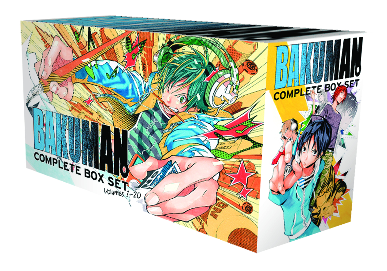 BAKUMAN GN COMP BOX SET
