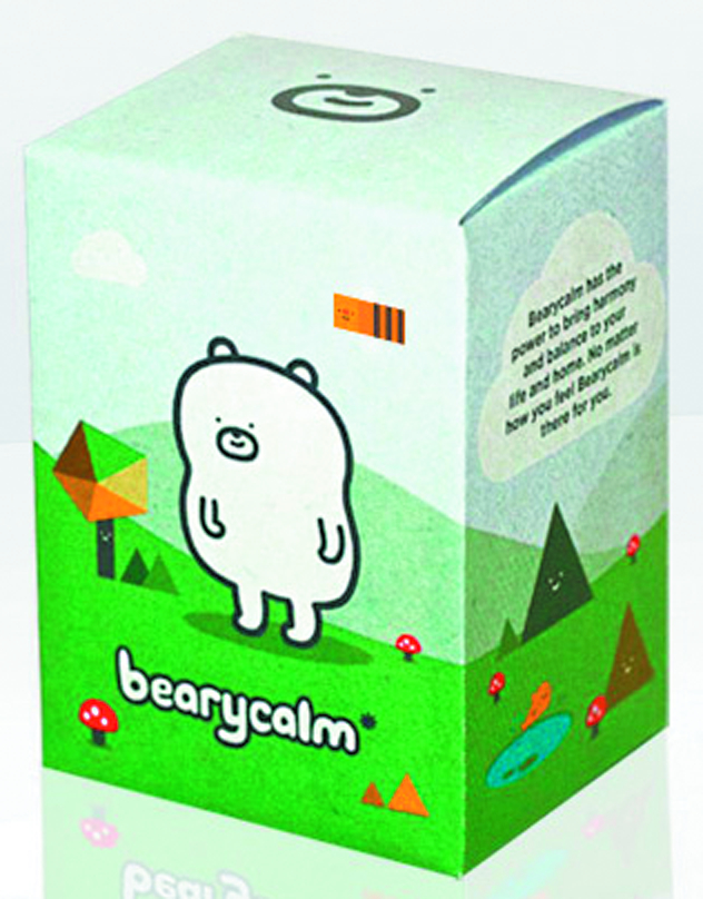 BEARYCALM VINYL FIG WHITE VER