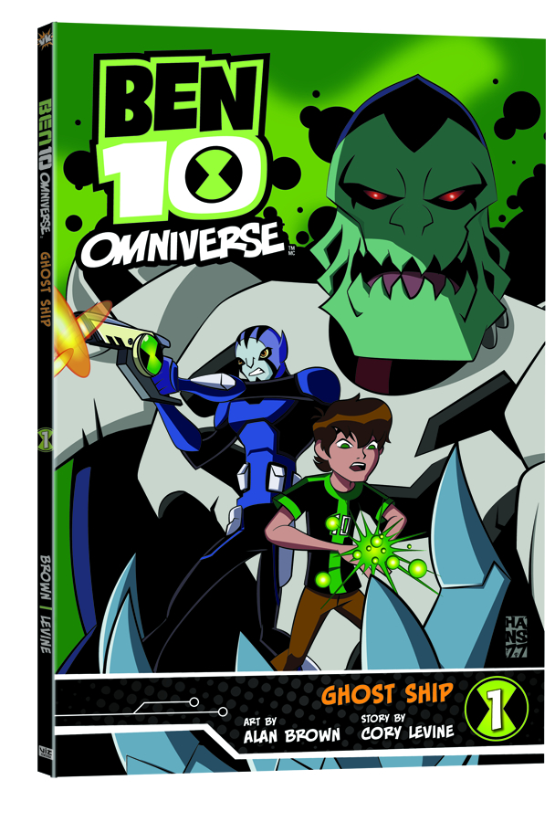 BEN 10 OMNIVERSE GN GHOST SHIP