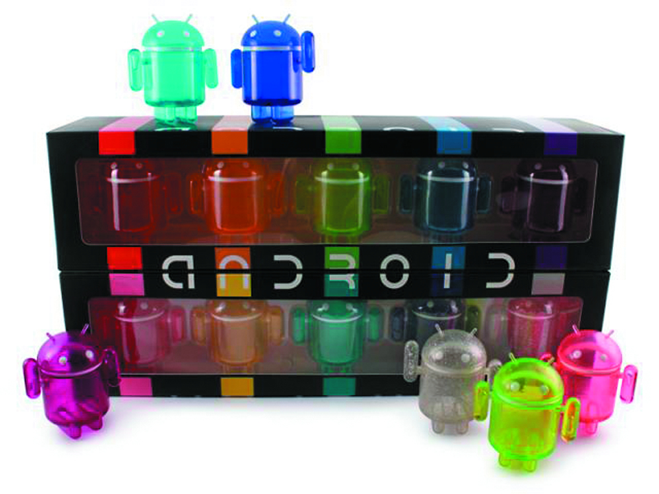 ANDROID RAINBOW SET MINI FIG 10PC SET
