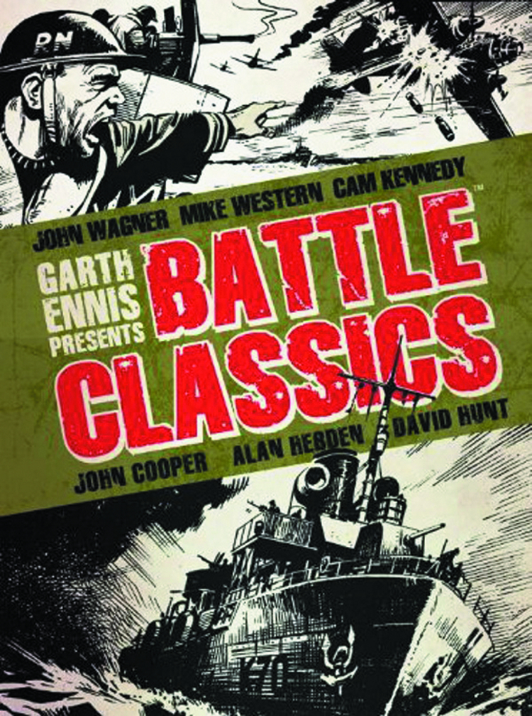 GARTH ENNIS PRESENTS BATTLE CLASSICS HC