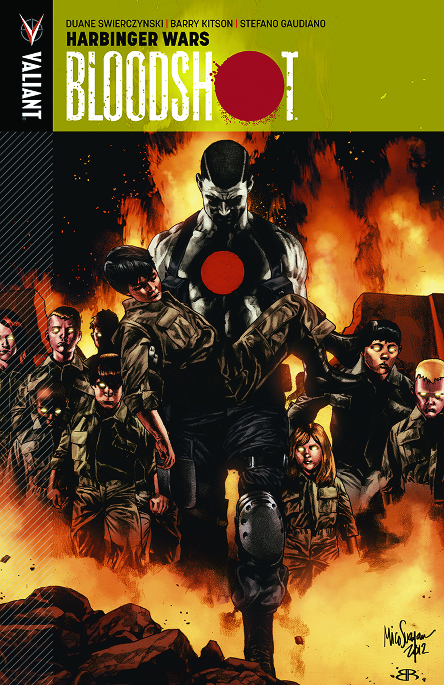 BLOODSHOT TP VOL 03 HARBINGER WARS