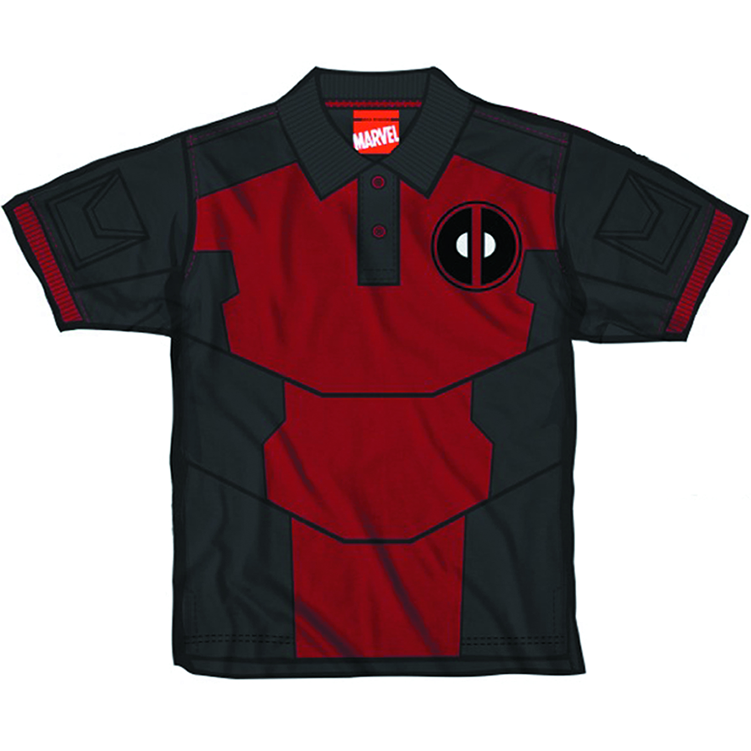 DEADPOOL POOL POLO PX SHIRT MED