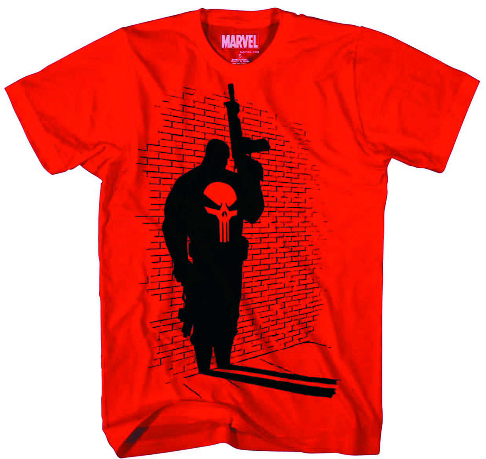 PUNISHER OFF CAMERA PX RED T/S XL