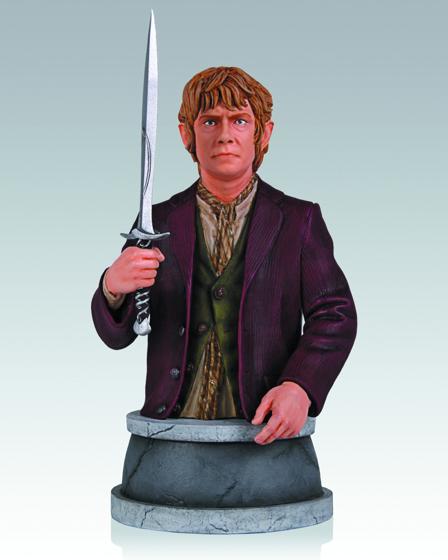 HOBBIT BILBO BAGGINS MINI-BUST