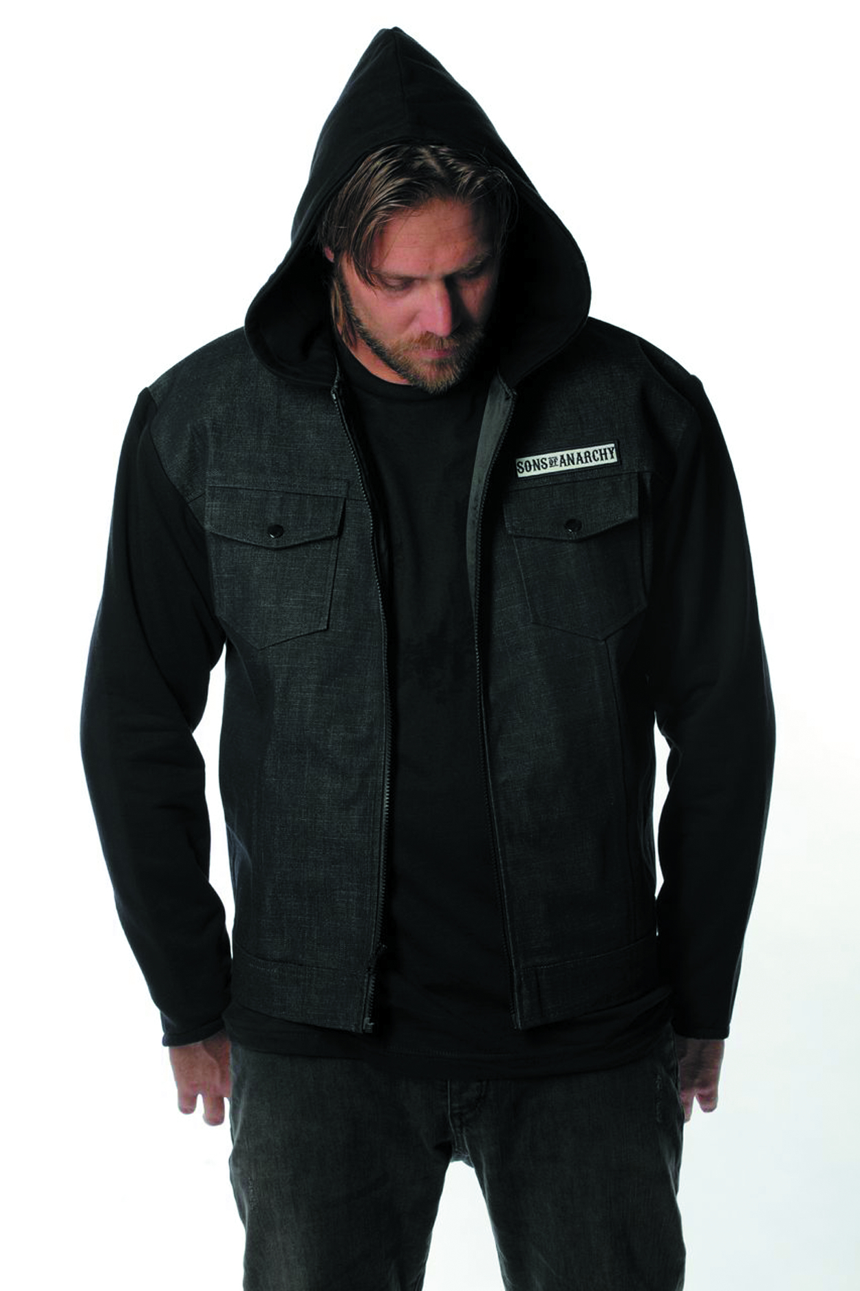SONS OF ANARCHY HIGHWAY JACKET LG