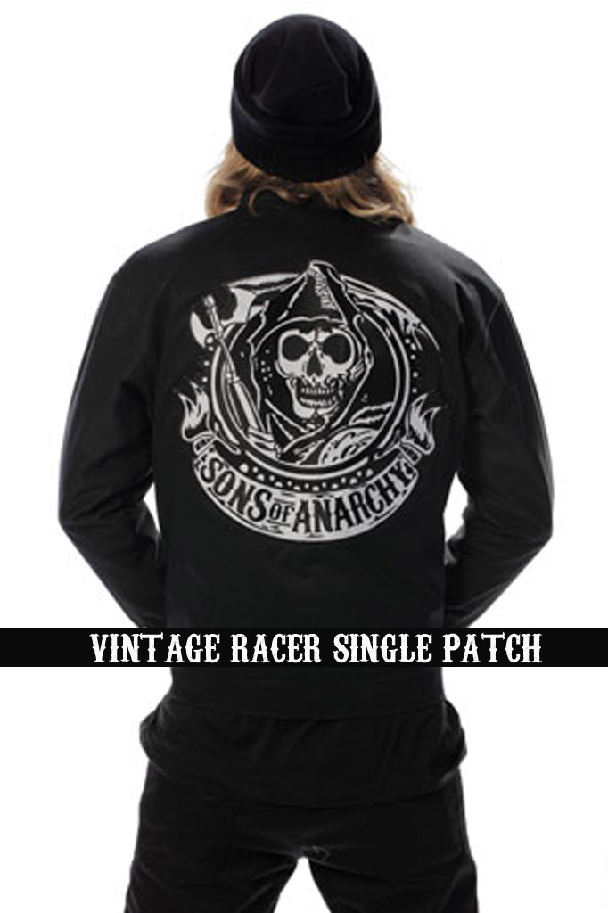SONS OF ANARCHY VINT RACER JACKET XL