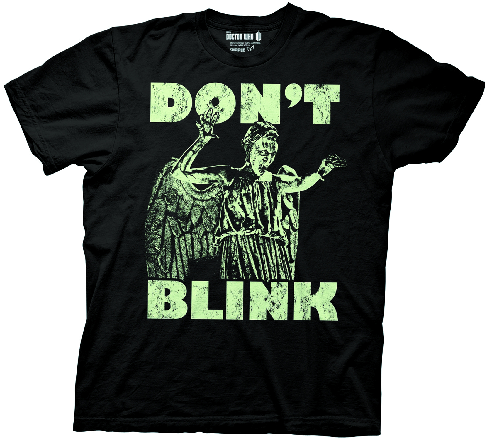 DW DONT BLINK GLOW IN THE DARK PX T/S XL