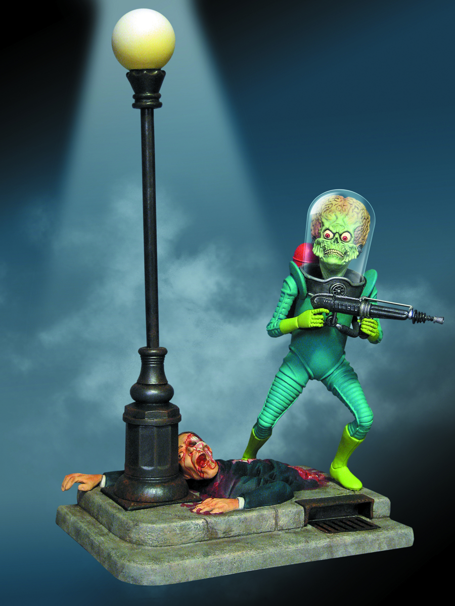 MARS ATTACKS MARTIAN PLASTIC MODEL KIT