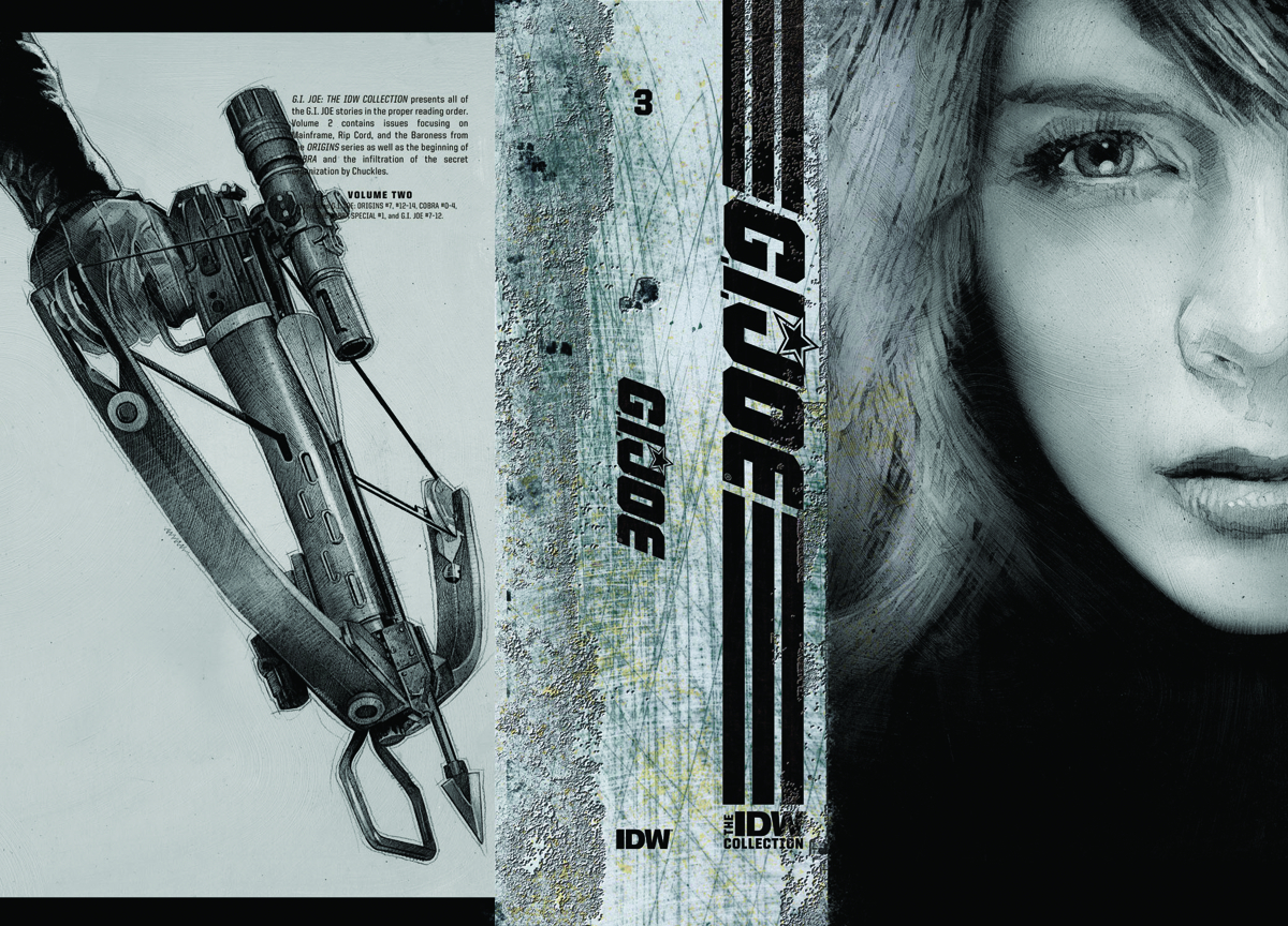 GI JOE IDW COLLECTION HC VOL 03