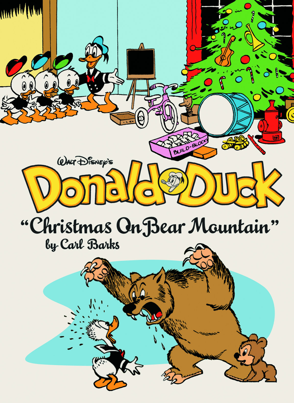 WALT DISNEY DONALD DUCK HC VOL 04 XMAS BEAR MOUNTAIN