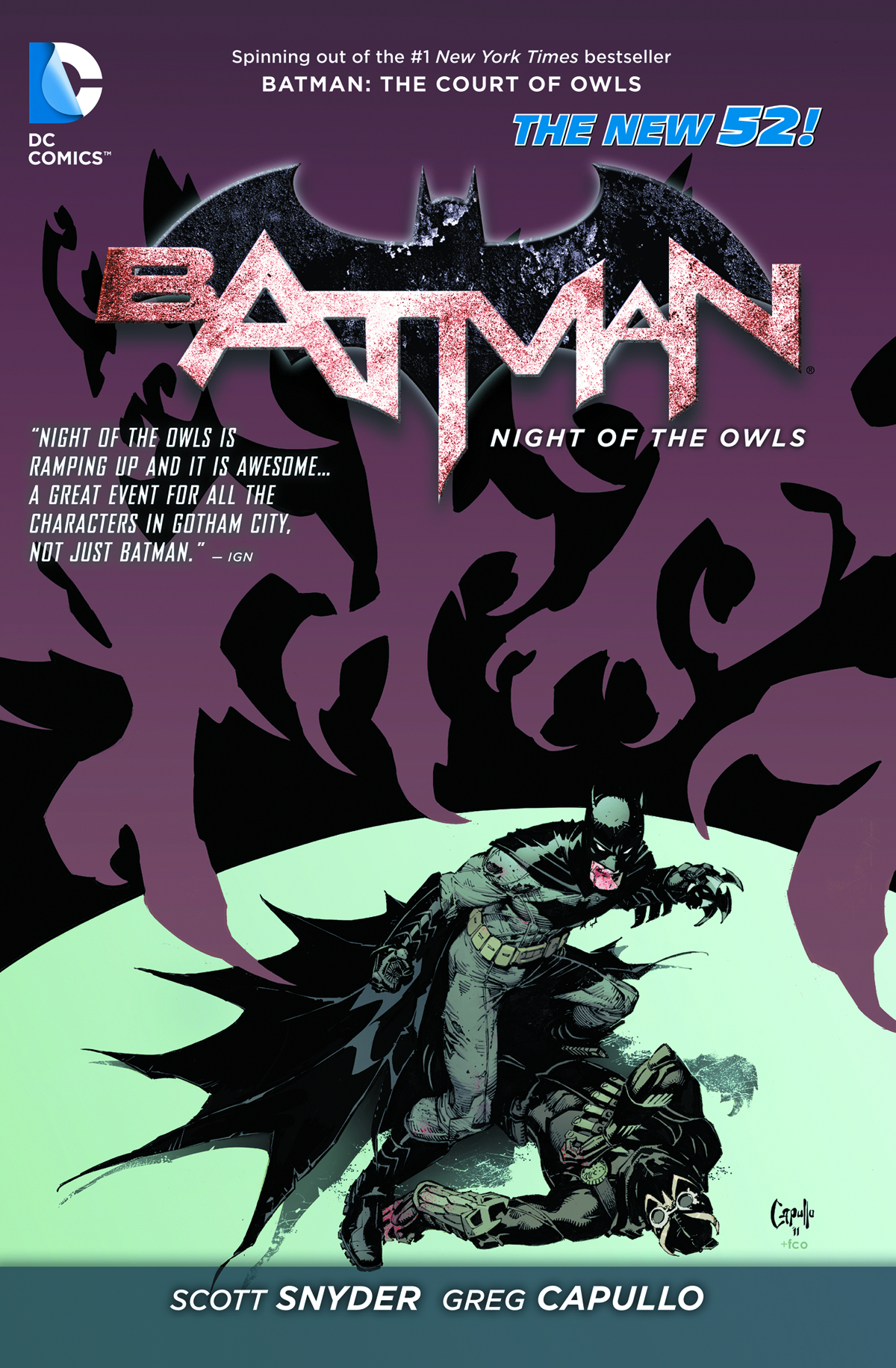 BATMAN NIGHT OF THE OWLS TP