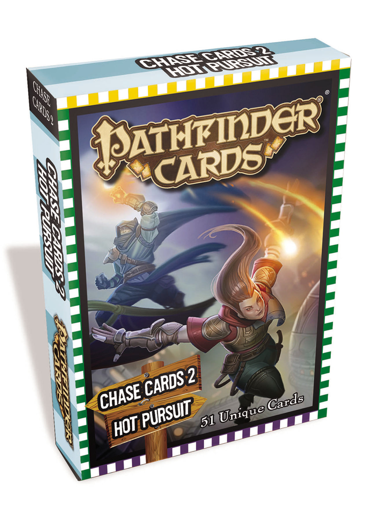 PATHFINDER CAMPAIGN CARDS CHASE CARDS 2 HOT PURSUIT
