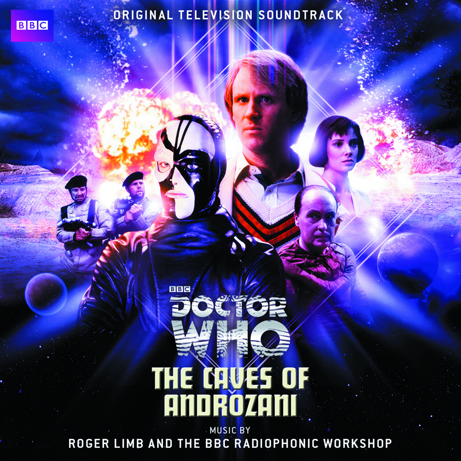 DOCTOR WHO THE CAVES OF ANDROZANI OST CD