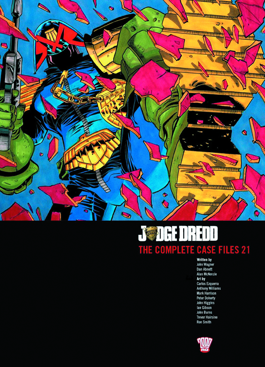 JUDGE DREDD COMP CASE FILES TP VOL 21