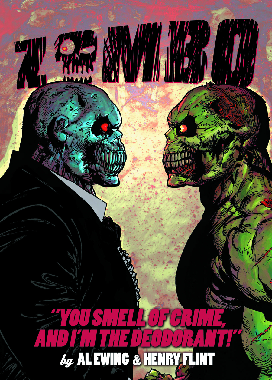 ZOMBO YOU SMELL OF CRIME GN