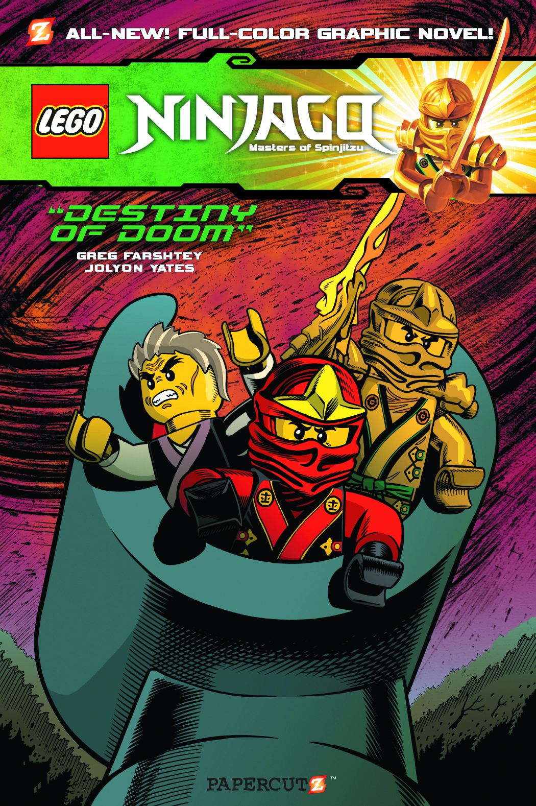 NINJAGO GN VOL 08 DESTINY OF DOOM