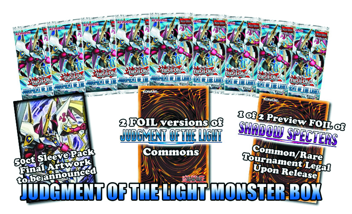 YU GI OH TCG JUDGMENT OF THE LIGHT DELUXE ED CASE