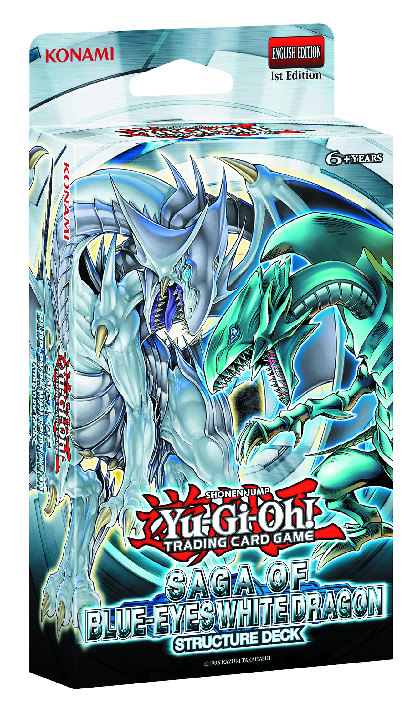 YU GI OH TCG SD SAGA BLUE EYES WHITE DRAGON DIS