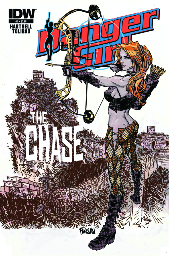 DANGER GIRL THE CHASE #2
