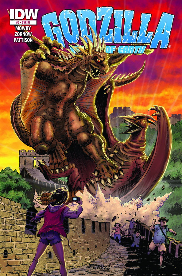 GODZILLA RULERS OF THE EARTH #5