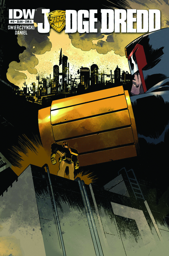 JUDGE DREDD #12 FREE 10 COPY INCV