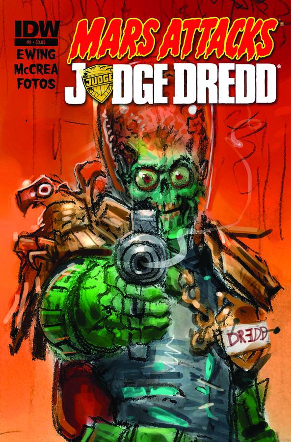 MARS ATTACKS JUDGE DREDD #2