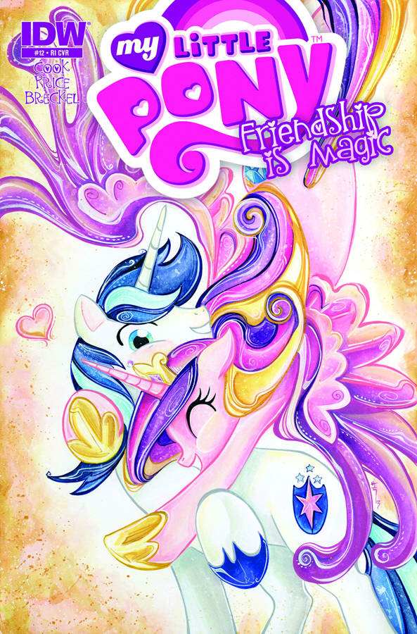 MY LITTLE PONY FRIENDSHIP IS MAGIC #12 FREE 10 COPY INCV