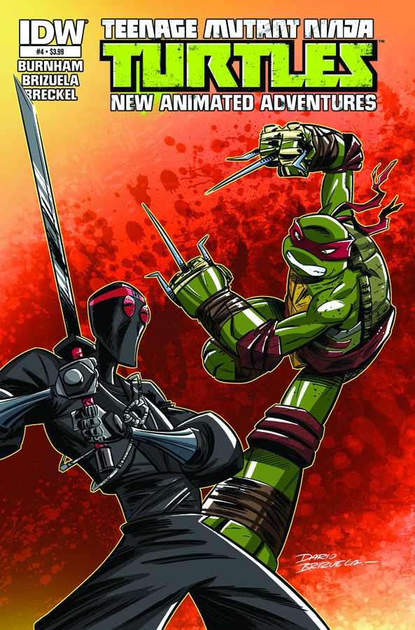 TMNT NEW ANIMATED ADVENTURES #4