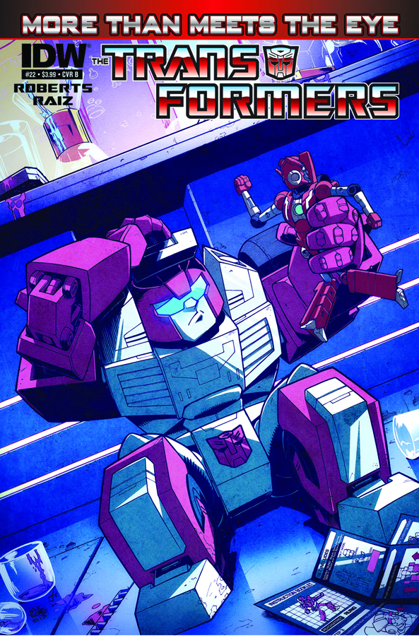 TRANSFORMERS MORE THAN MEETS EYE #22