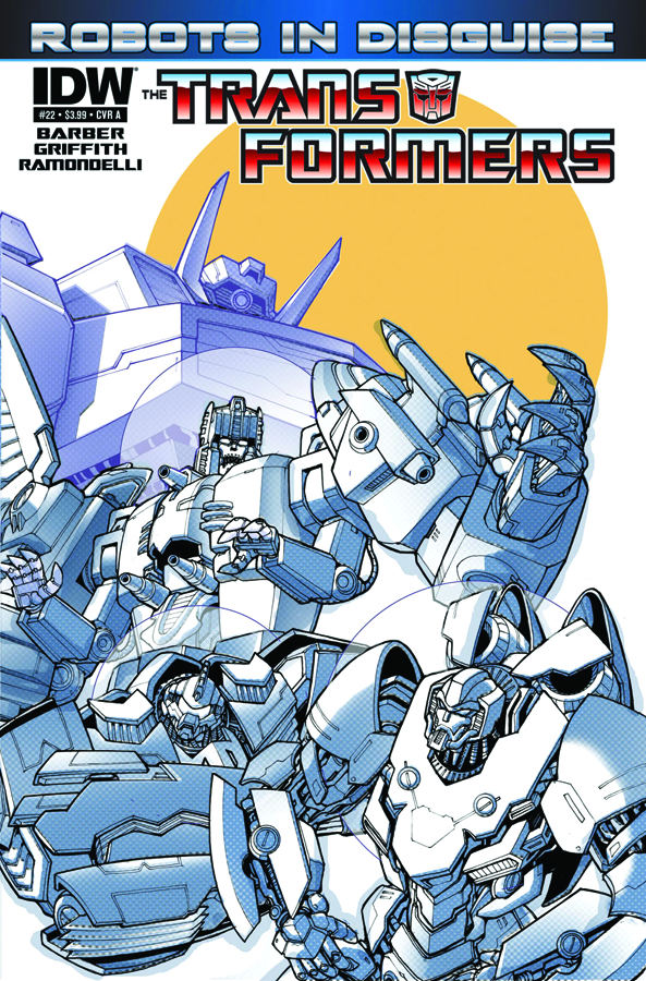 TRANSFORMERS ROBOTS IN DISGUISE #22 FREE 10 COPY INCV