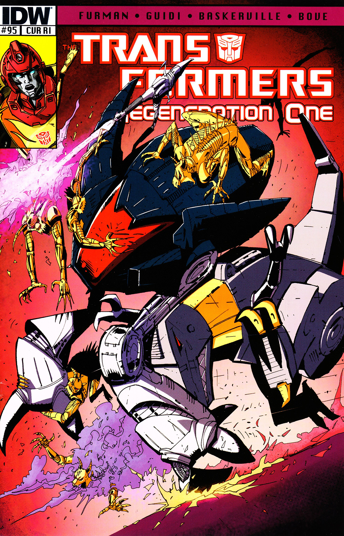 TRANSFORMERS REGENERATION ONE #95 FREE 10 COPY INCV