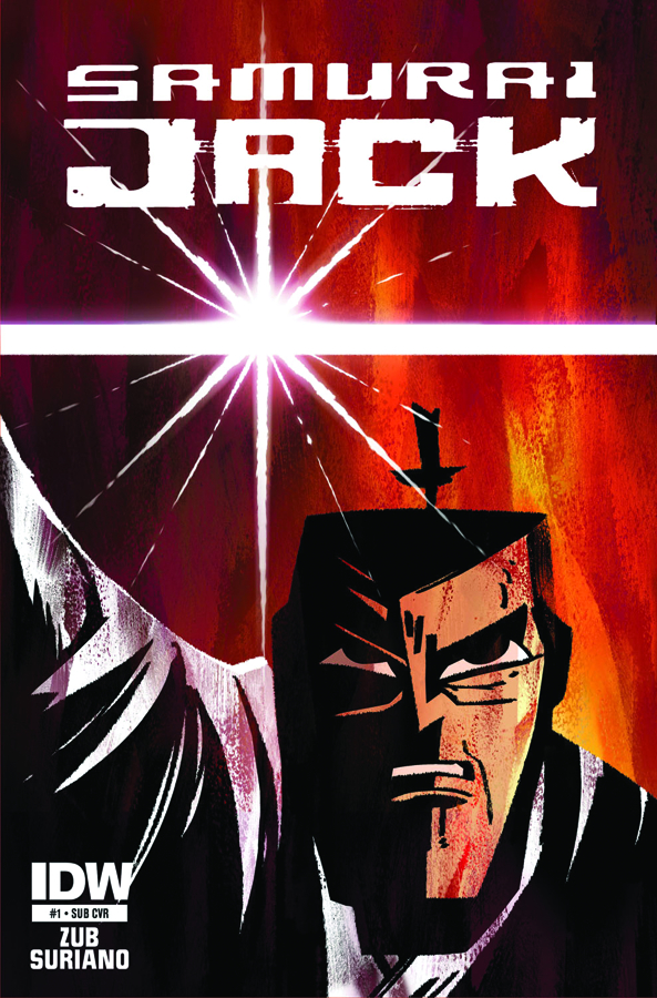 SAMURAI JACK #1 SUBSCRIPTION VAR