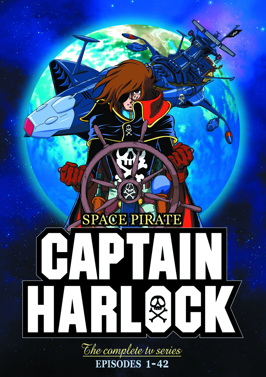 SPACE PIRATE CAPTAIN HARLOCK COMP TV SER DVD
