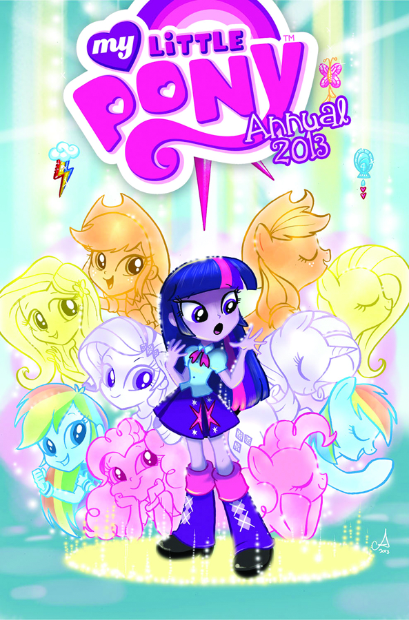 MY LITTLE PONY 2013 ANNUAL FREE 10 COPY INCV