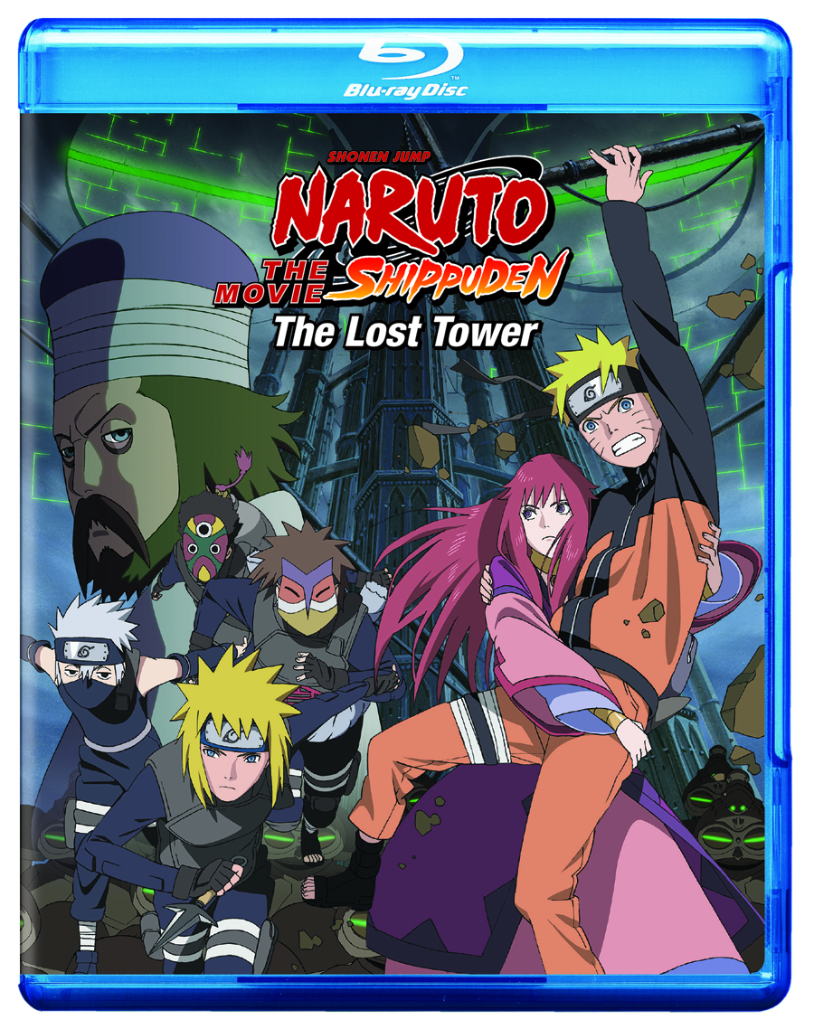 NARUTO SHIPPUDEN THE MOVIE THE LOST TOWER BD