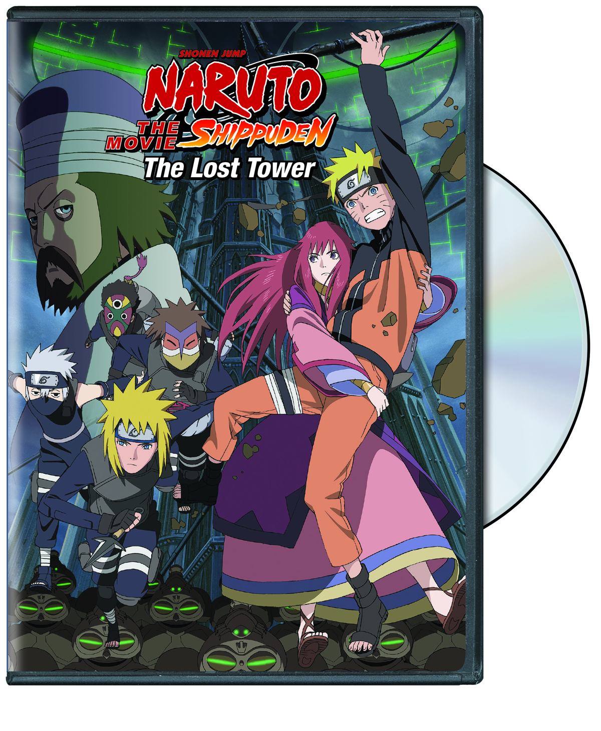 NARUTO SHIPPUDEN THE MOVIE THE LOST TOWER DVD