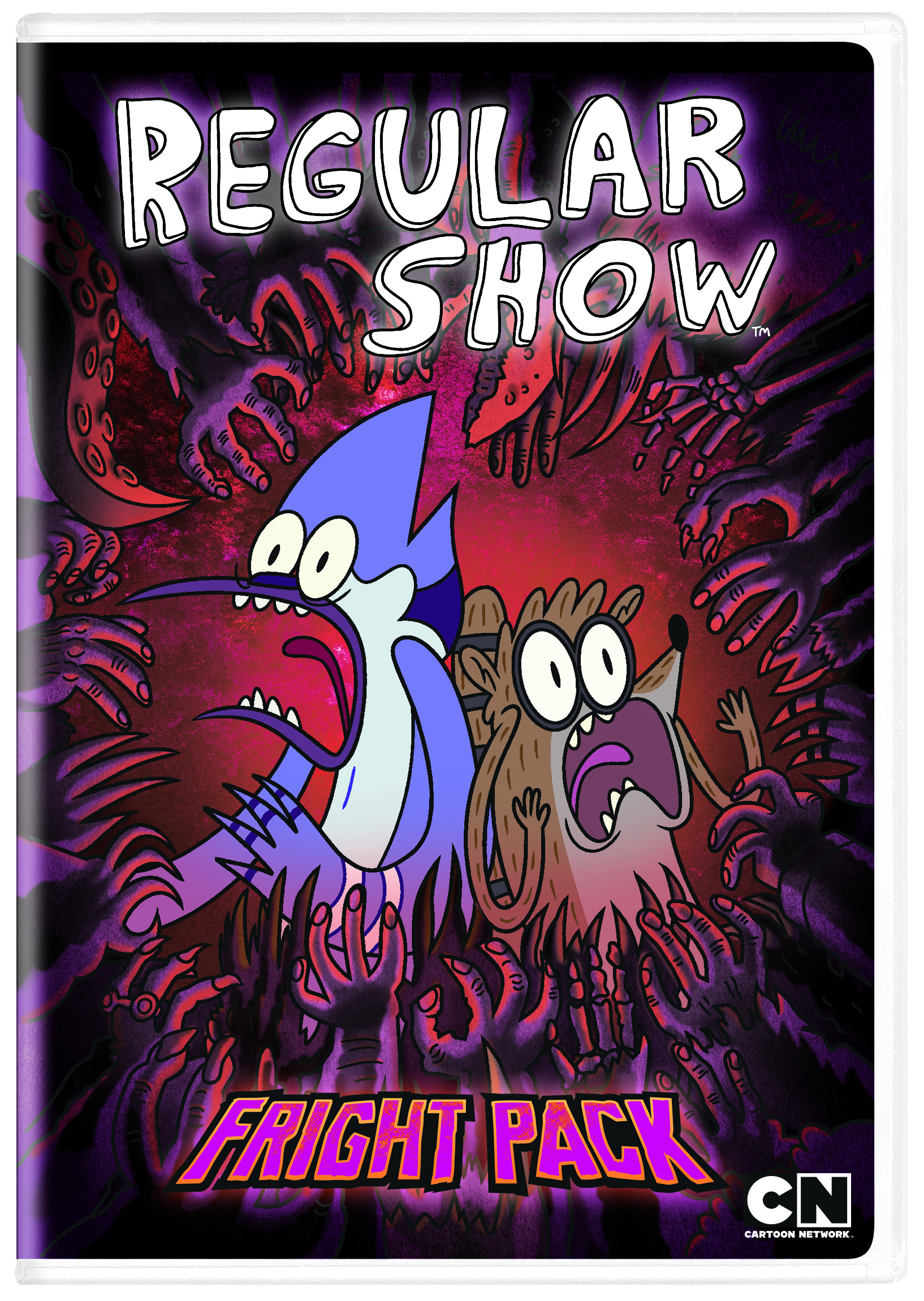 REGULAR SHOW DVD FRIGHT PACK