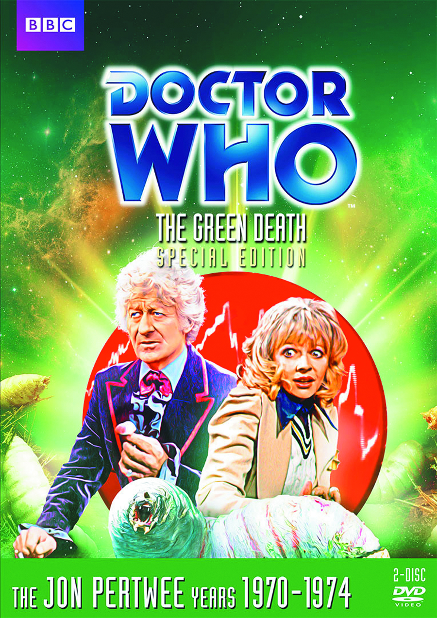 DOCTOR WHO GREEN DEATH DVD