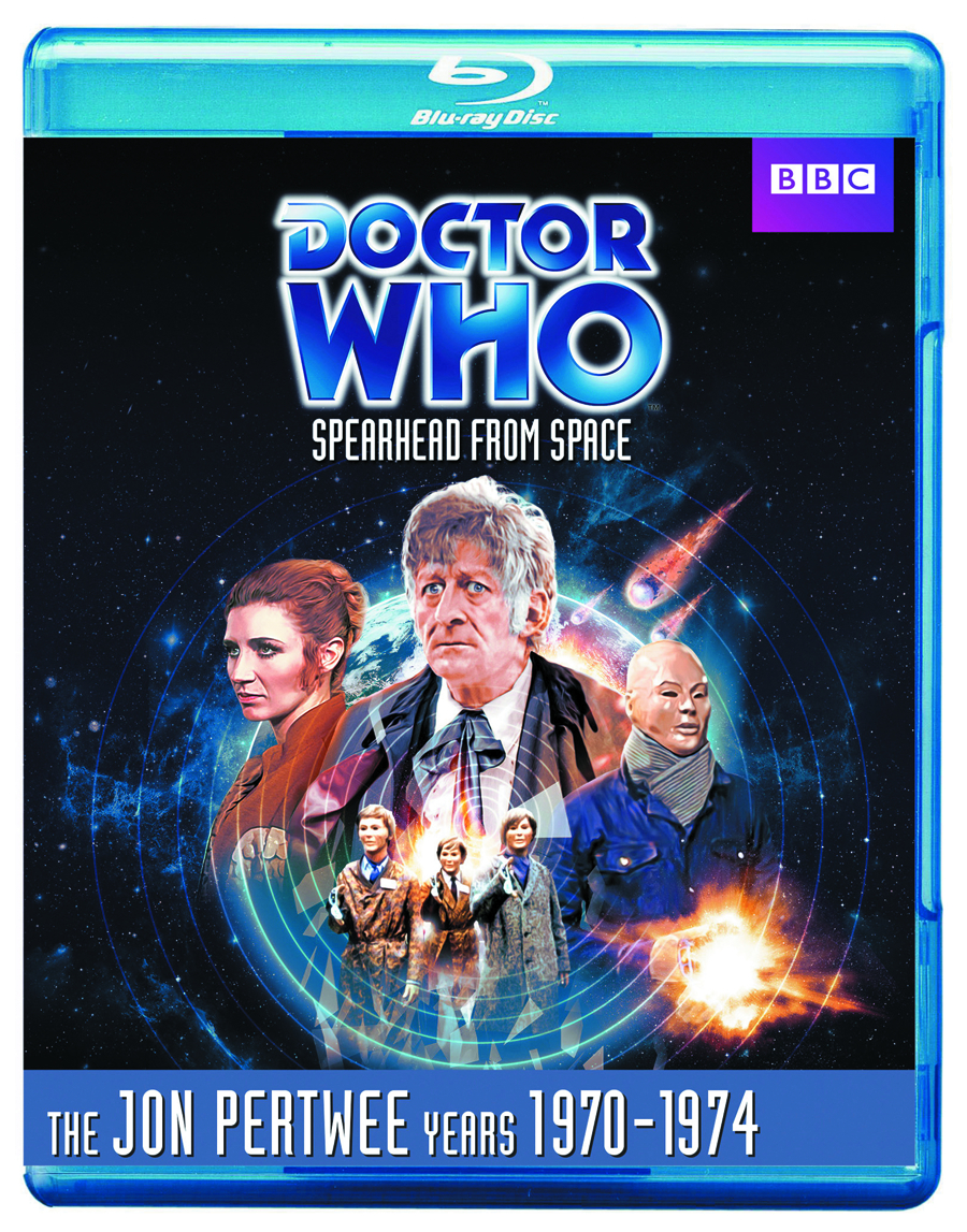 DOCTOR WHO SPEARHEAD FROM SPACE BD