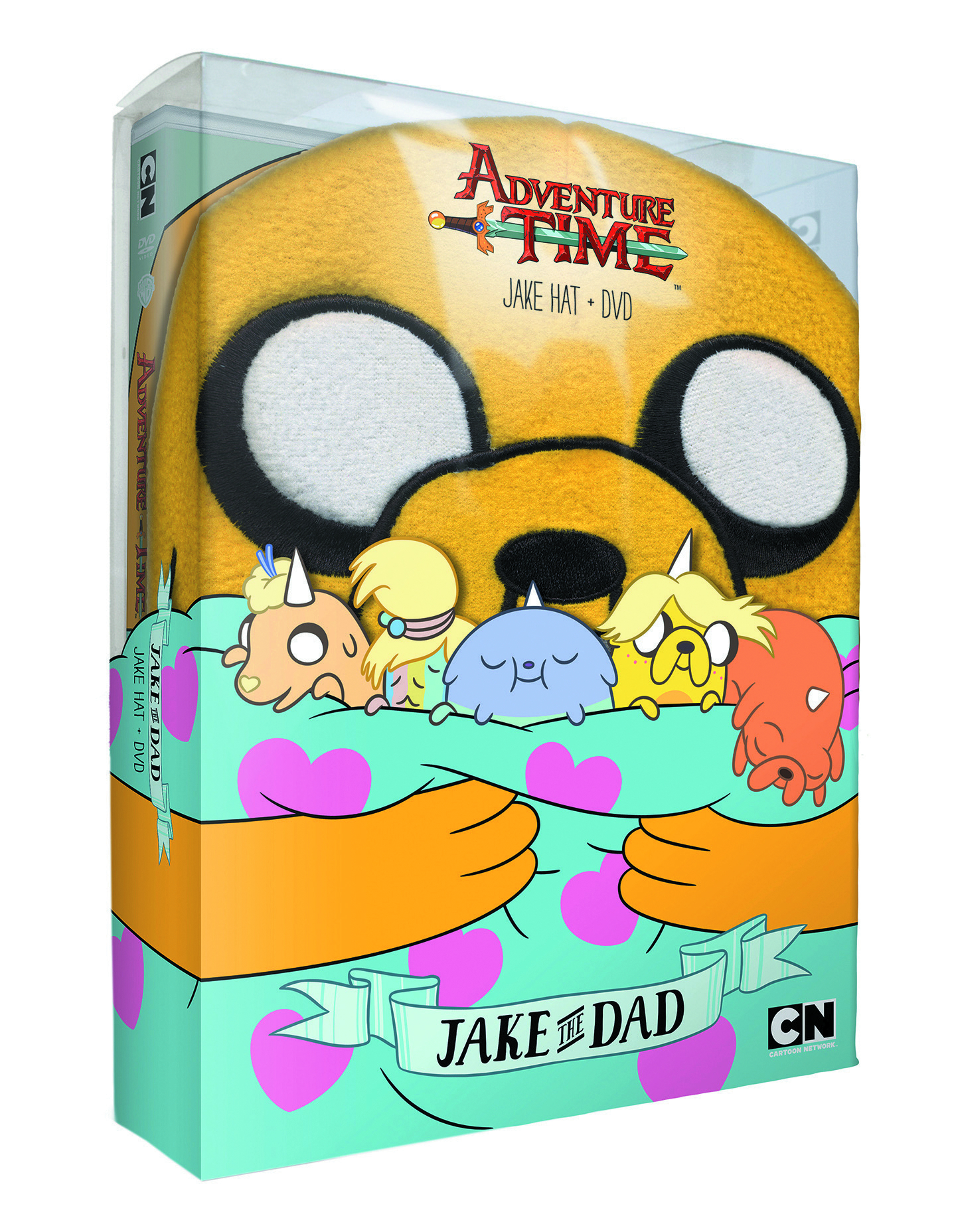 ADVENTURE TIME JAKE WITH DAD + HAT DVD